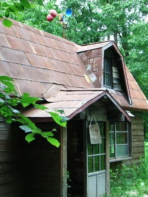 黒板家 最初の家